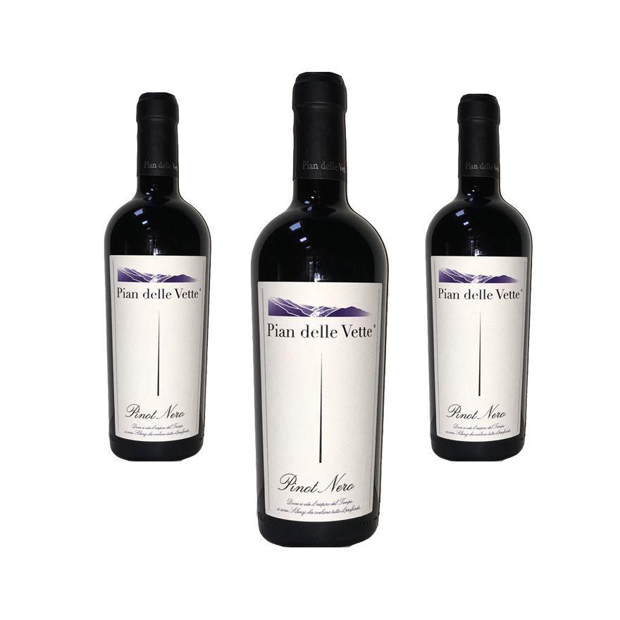 Pinot Nero annata 2013 - Raffinatezza ed eleganza - IGT Vigneti delle Dolomiti - 3 bottiglie