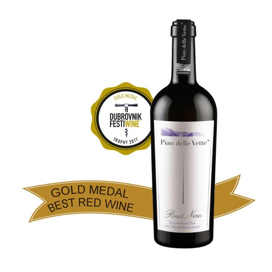 Pinot Nero annata 2012 - Raffinatezza ed eleganza